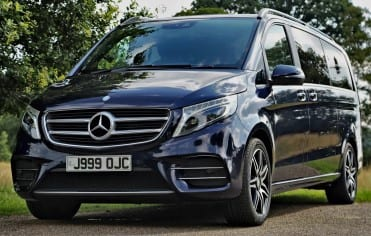 Mercedes 7 Seater with Executive Chauffeur Derby
