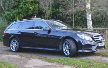 Mercedes E Class with Executive Chauffeur Derby